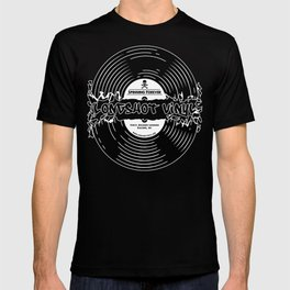 Spinning Forever (B&W) T-shirt