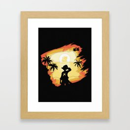 The Pirate King Framed Art Print