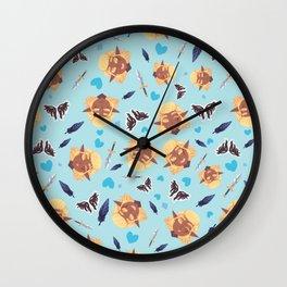 Tiny Zevran Wall Clock