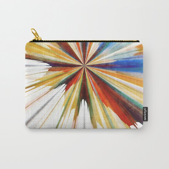 Colorful Splash Carry-All Pouch