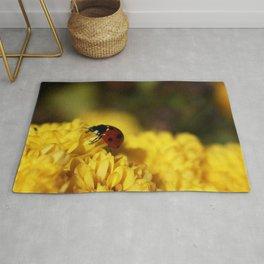 Ladybug on Mum Rug