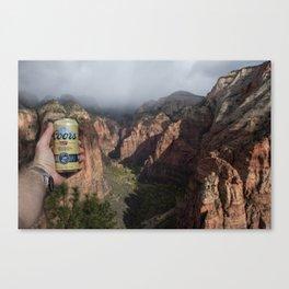 Angel's Beer Canvas Print