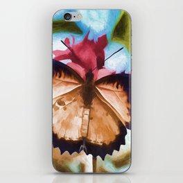 Beautiful Monarch Butterfly iPhone Skin