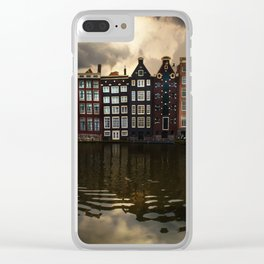 Postcards from Amsterdam Clear iPhone Case