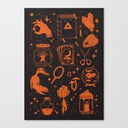 Far Into The Night Canvas Print