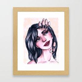 She Grows On You Framed Art Print