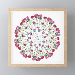 Floral Rhapsody Framed Mini Art Print