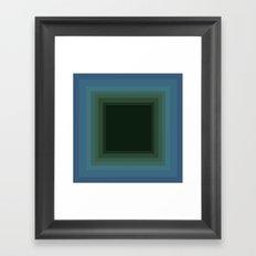 allez profondément Framed Art Print