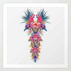 Parrot Kingdom Art Print