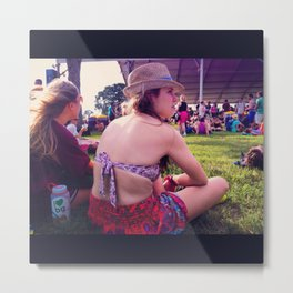 Bonnaroo: Mind/Wind Blown Metal Print