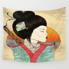 Katana Wall Tapestry