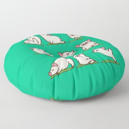 Pig Yoga Floor Pillow