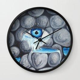 L'amour au coeur de pierre Wall Clock