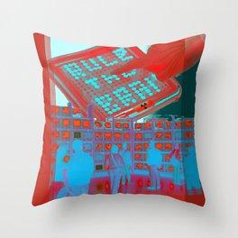 rule the brain Throw Pillow