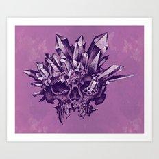 Crystal Skull Art Print