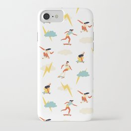 You go, girl pattern! iPhone Case