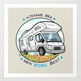 Bobil Art Print