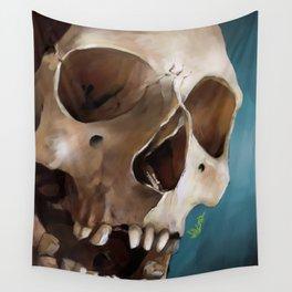 Skull 2 Wall Tapestry