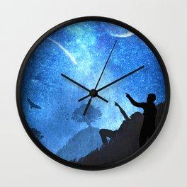 Beneath the Stars Wall Clock