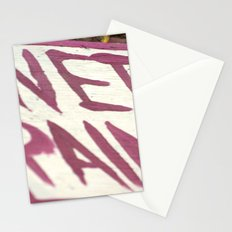 Wet Paint Stationery Cards