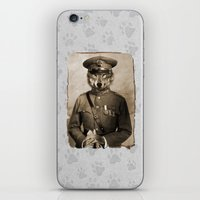 general iPhone & iPod Skins featuring The general by Seamless