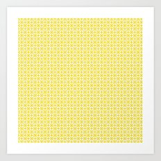 U15: atomic yellow B Art Print