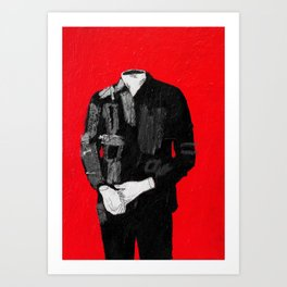 standing figure. 2015.  Art Print