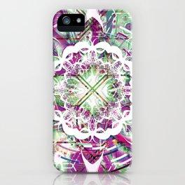Introspective Reflection iPhone Case