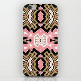 Geoplay : Pink Gold Tribal iPhone Skin