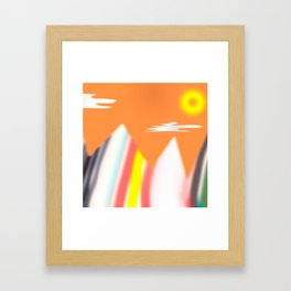 cleave Framed Art Print
