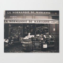 Shop France Canvas Print