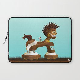 Trojanix, the lion-horse. Laptop Sleeve