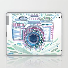 flower camera Laptop & iPad Skin