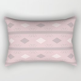 Aztec Pink Diamonds Rectangular Pillow