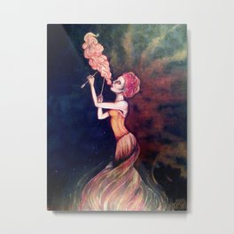 Fire Breather Metal Print