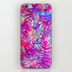 Electric Palms - Pink iPhone & iPod Skin