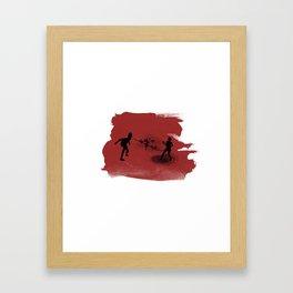 Spitter! Framed Art Print