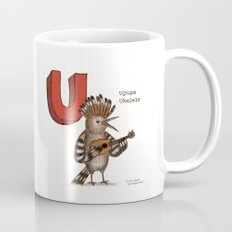 Animals & Instruments ABCs – U Coffee Mug
