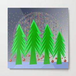 Christmas Dreamer | Christmas Spirit Metal Print