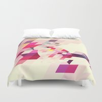 bunny Duvet Covers featuring Bunny by Dnzsea