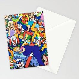 Killer Klowns Stationery Cards