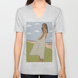 Swept Away Unisex V-Neck