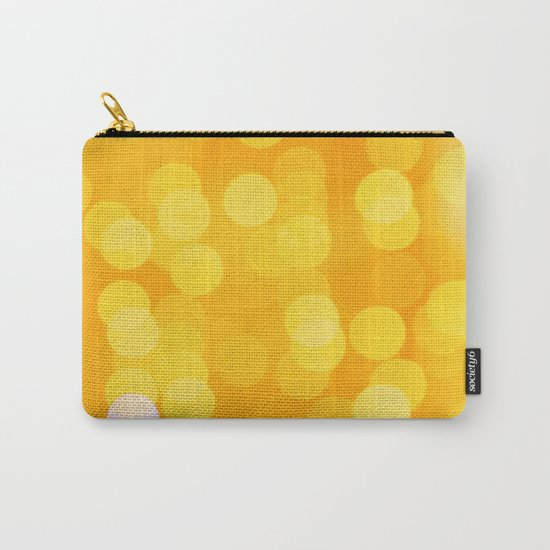 Disco Fever in Yellow Carry-All Pouch