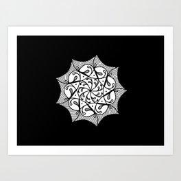 Artist net Art Print