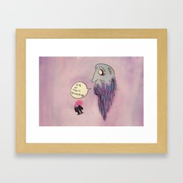 All About Networking Framed Art Print