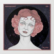 Breakfast on Pluto Canvas Print