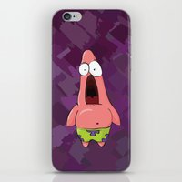 patrick iPhone & iPod Skins featuring patrick by MartinsNM