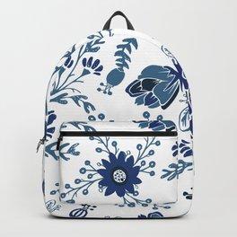 Porcelain Flowers Backpack