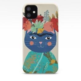 Frida Cat iPhone Case