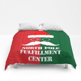 North Pole Fulfillment Center Comforters